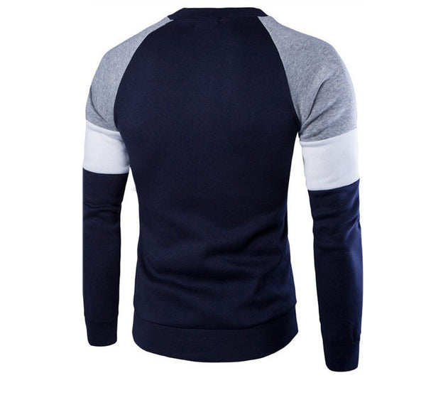 Hoodies & Sweatshirts – Men's Casual Spring / Autumn Fashion O-neck Sweatshirt | Zorket