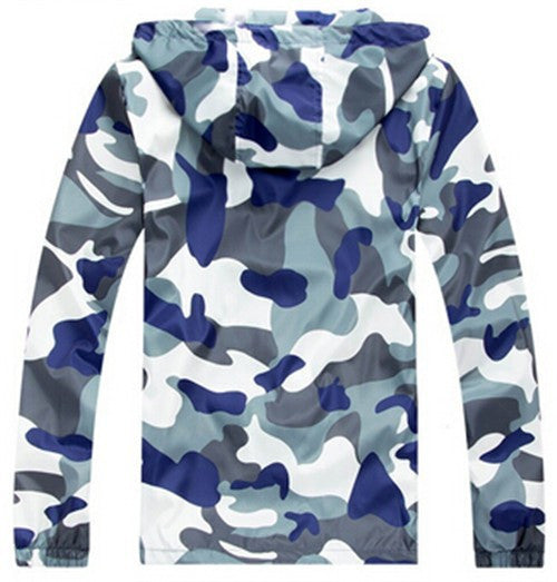 Hoodies & Sweatshirts – Men's Camouflage Casual Zippered Hoodie | Zorket