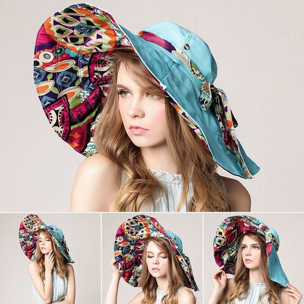 Hats – Women's Flower Sun Hat | Zorket