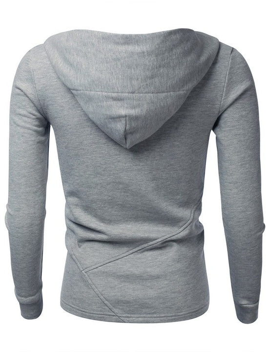 Men's Sports Slim Fit Hooded Sweatshirt - Zorket
