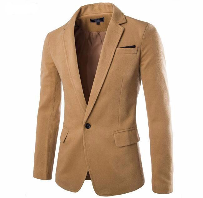 Casual Slim Fit Stylish Men's Blazer