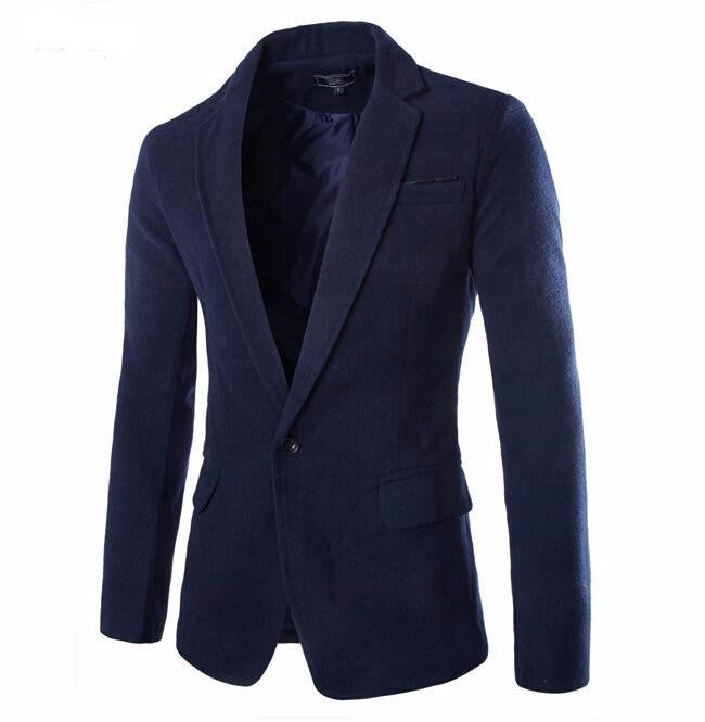 Blazer – Casual Slim Fit Stylish Men's Blazer | Zorket