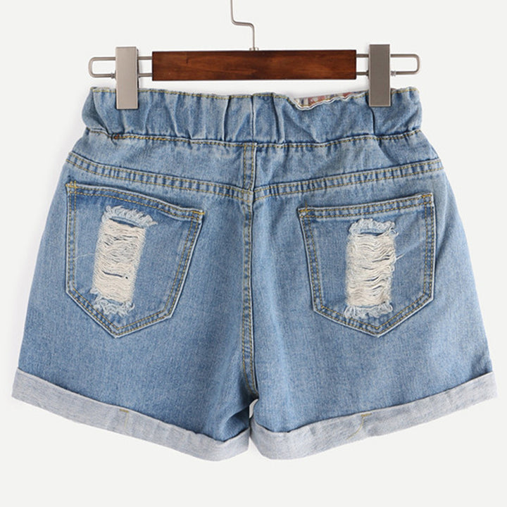 Women's Fashion Summer Ripped Shorts - Zorket