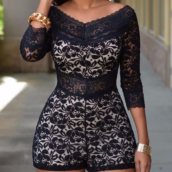 Women's Evening Romper