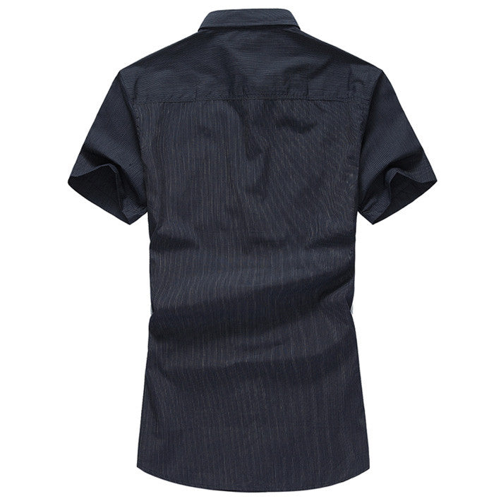 Spring & Summer Men's Short Sleeved Shirt - Zorket