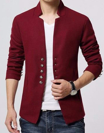 Blazer – Men's Fashion Short Single Breasted Casual Blazer | Zorket