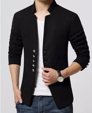 Men's Short Single Breasted Casual Blazer - Zorket
