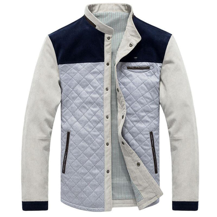 Men's Warm High Quality Winter Jacket, European Style