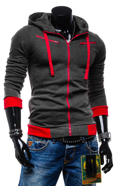 Hoodies & Sweatshirts – Men's Casual Sports Slim Hooded Sweatshirt | Zorket