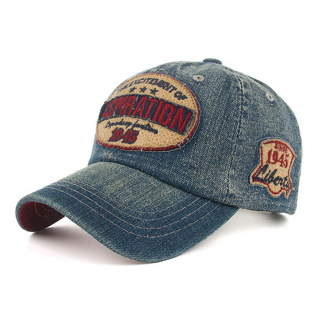 Adult's / Kid's High Quality Jeans Baseball Cap - Zorket
