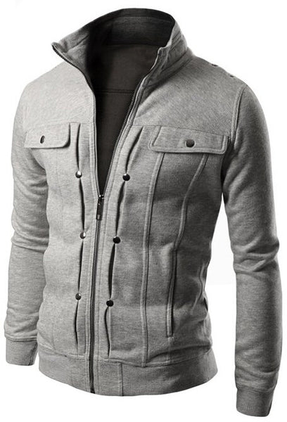 Hoodies & Sweatshirts – Men's Casual Solid Fashion Sweatshirt | Zorket