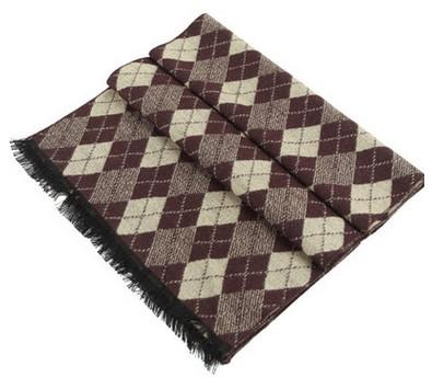 Male Scarf With Pattern