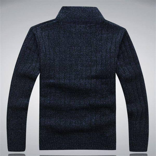 Cardigan – Man's Casual Thick Cashmere Sweater | Zorket