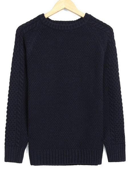 Pullover – Men's Casual Knitted Thick Warm Sweater | Zorket