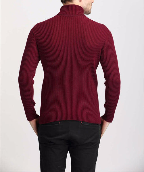 Sweater – Men's Thick 100% Cashmere Slim Fit Sweater | Zorket
