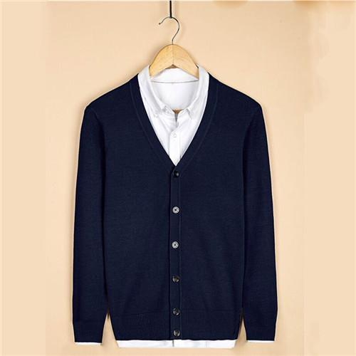 Men's Cotton Slim Fit Casual Cardigan
