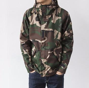Men's Casual Fashion Loose Camouflage Coat