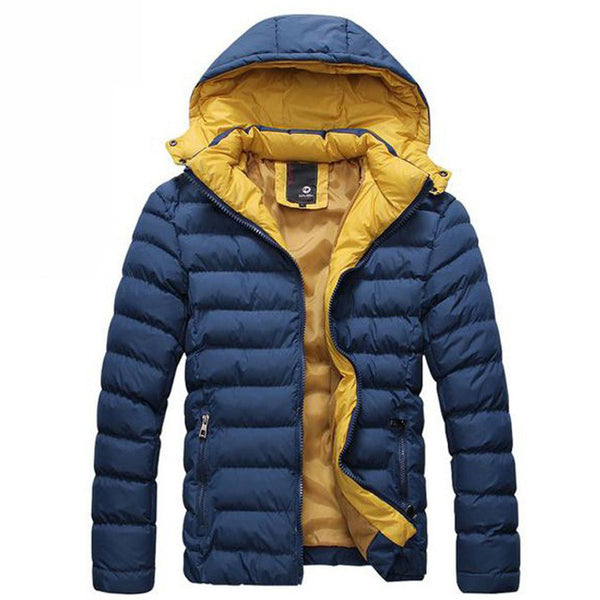 Jacket – Men's Autumn / Winter Hooded Cotton Jacket | Zorket