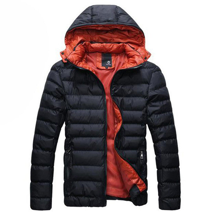 Men's Autumn / Winter Hooded Cotton Jacket - Zorket