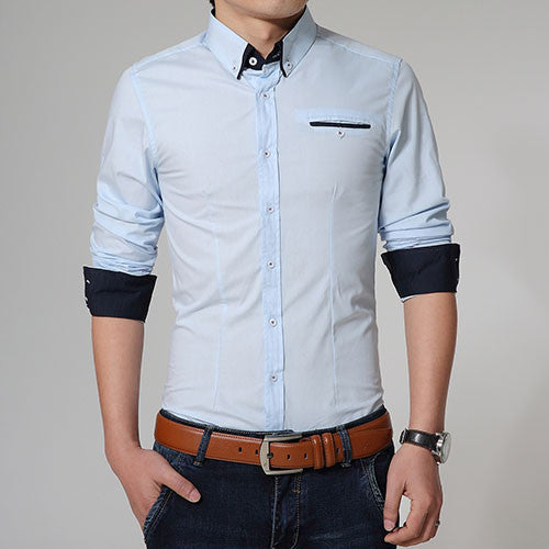 Men's High Quality Slim Fit Casual Shirt - Zorket