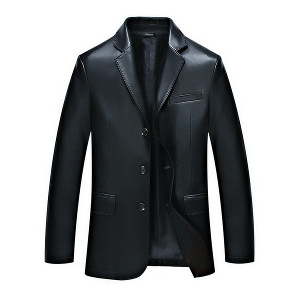 Jacket – High-Grade Fashion Men's Business PU Leather Jacket | Zorket