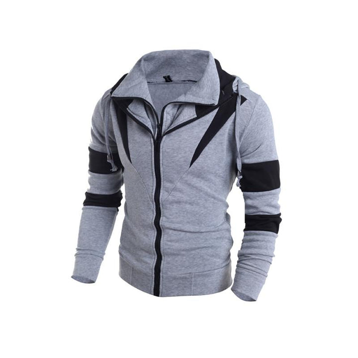 Men's Casual Slim Fit Hooded Sweatshirt