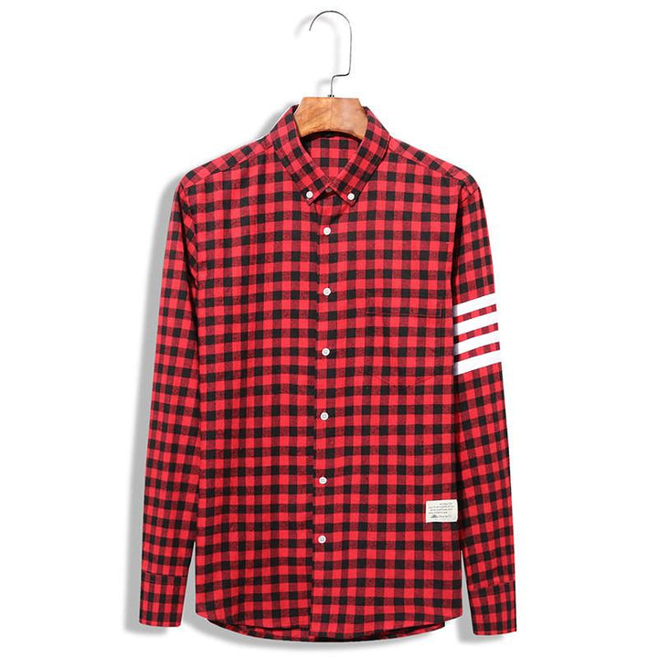 Men's Plaid Full Sleeve Casual Shirt