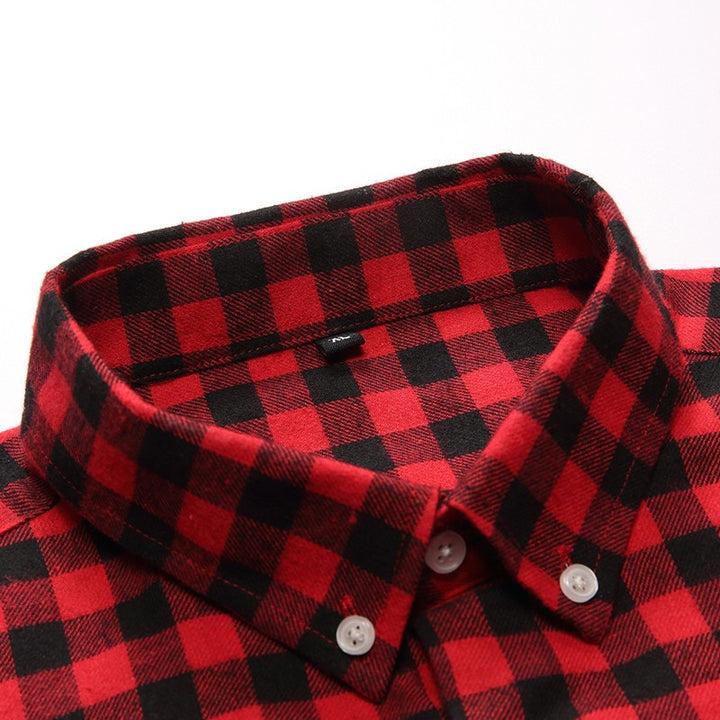 Men's Plaid Full Sleeve Casual Shirt - Zorket