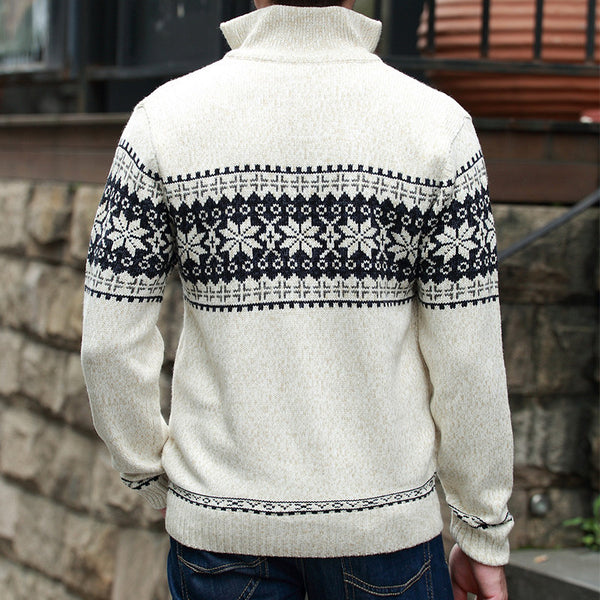 Sweater – Men's Knitted Wool Sweater | Zorket