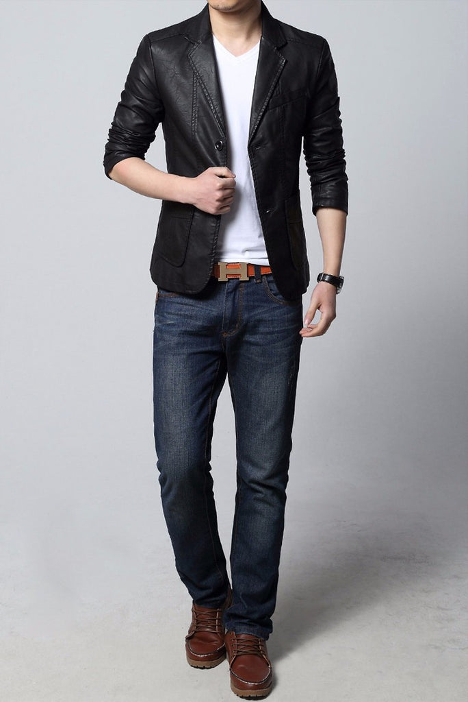 Men's Top Quality Casual Slim Fit Blazer - Zorket
