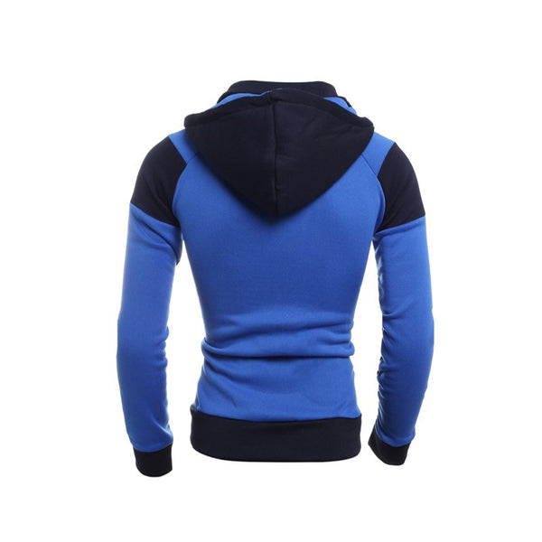 Hoodies & Sweatshirts – Men's Patchwork Slim Sweatshirt | Zorket