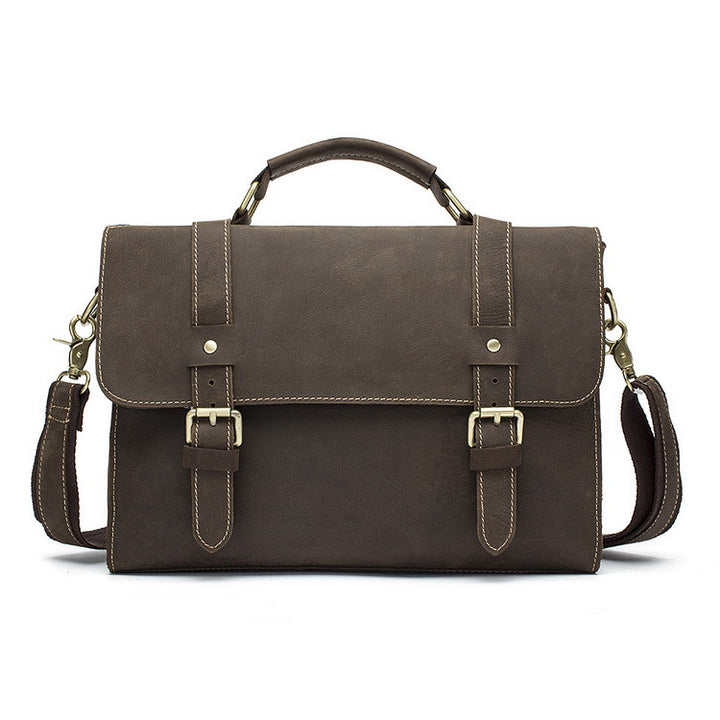 Briefcase – Male Casual Solid Color Laptop Briefcase | Zorket