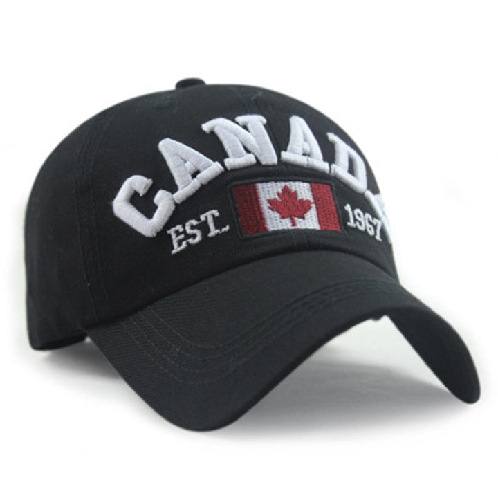 Men's High Quality Cotton Canada Baseball Cap - Zorket
