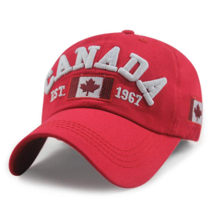 Men's High Quality Cotton Canada Baseball Cap