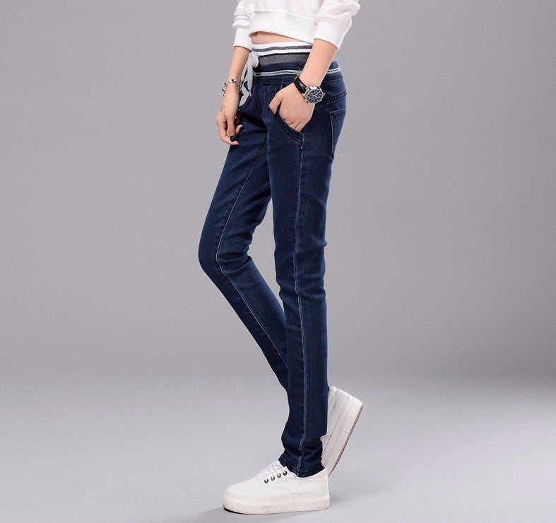 Spring / Autumn Women's Stretch Skinny Pencil Jeans - Zorket