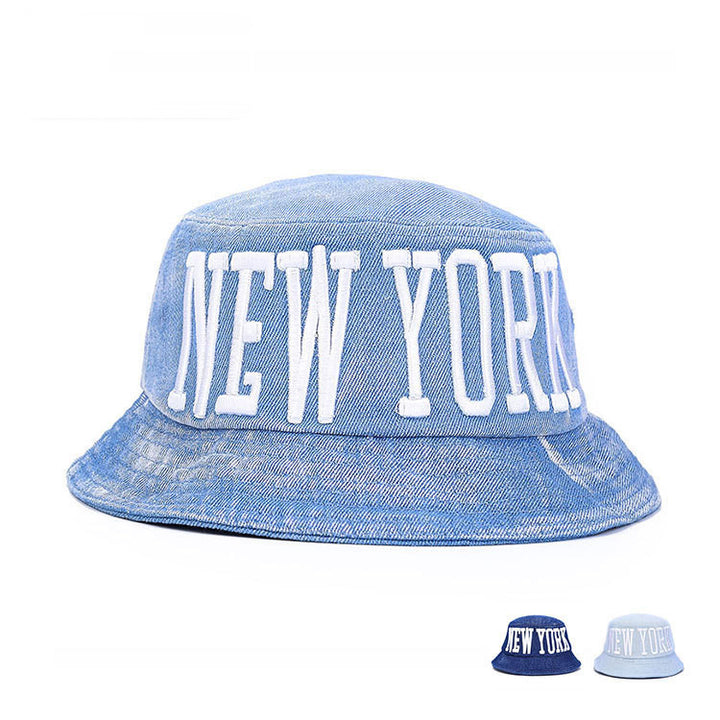 Men's / Women's Cotton New York Bucket Hat - Zorket