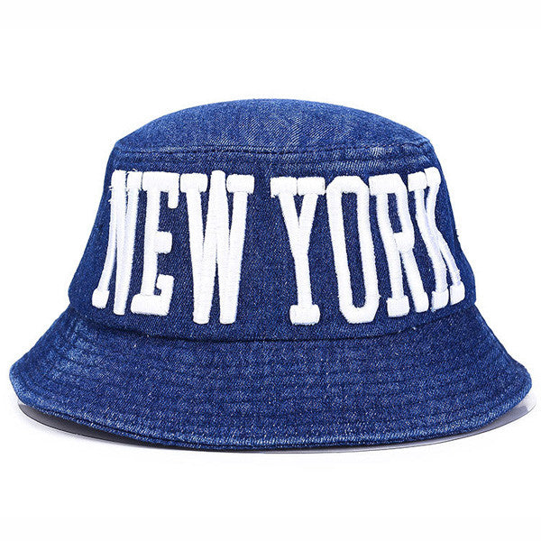 Hats – Men's / Women's Cotton New York Bucket Hat | Zorket