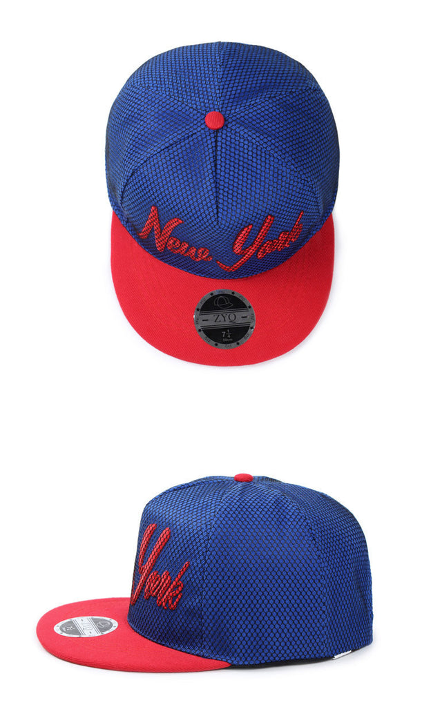 Men's / Women's Cotton New York Snapback - Zorket