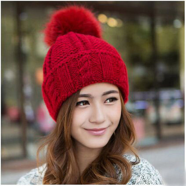 Winter Hat – Woman's 100% Acrylic Warm Winter Hat | Zorket