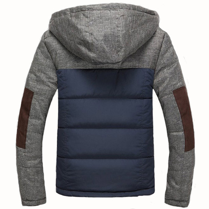 Winter Slim Jacket Of Cotton - Zorket