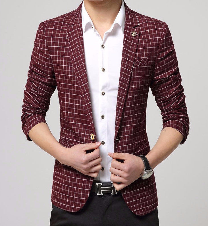 Men's Luxury Business Casual Blazer - Zorket