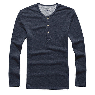 T-Shirt – Men's Casual Long Sleeve T-Shirt | Zorket