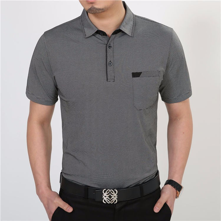 Men's Casual Short Sleeve Cotton T-Shirt - Zorket
