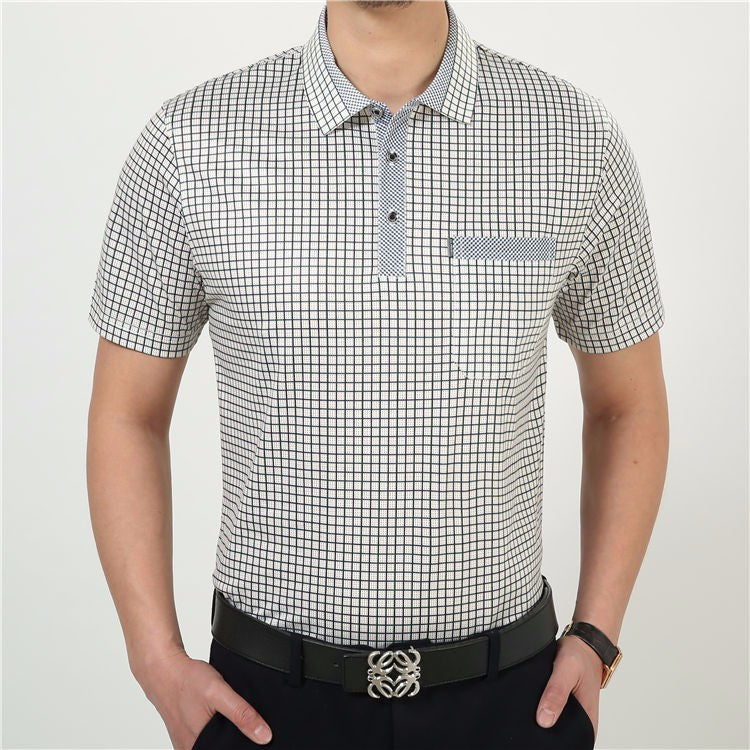 Men's Short Sleeve Cotton Casual T-Shirt - Zorket