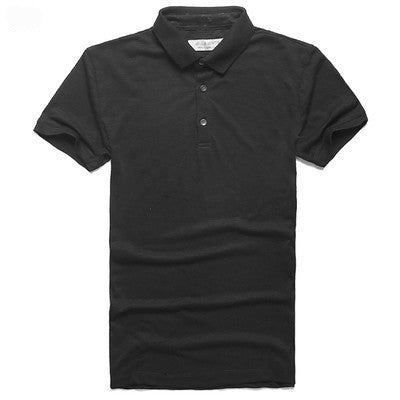 T-Shirt – Men's Casual Top Quality Solid Polo Shirt | Zorket