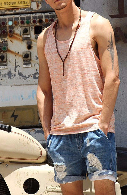 Men's Cotton Bodybuilding Tank Top - Zorket