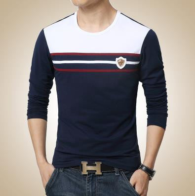 T-Shirt – Men's Casual O-Neck Long Sleeve T-Shirt | Zorket