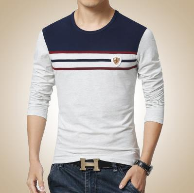 Men's Casual O-Neck Long Sleeve T-Shirt