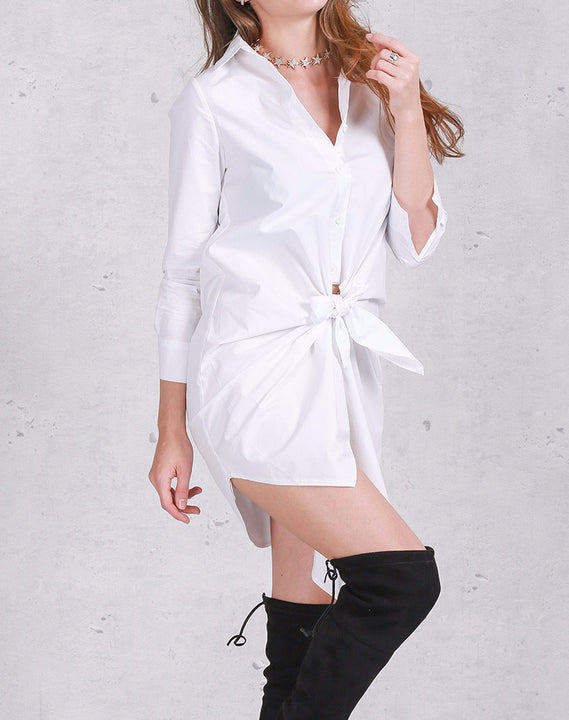 Dress – Long Sleeved Summer Shirt Dress | Zorket