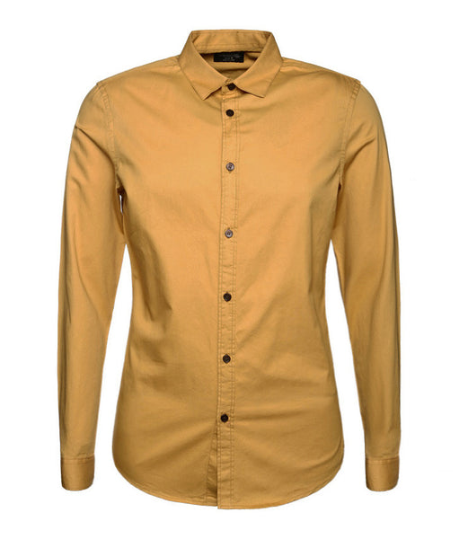 Shirt – Men's Slim Fit Long Sleeved Shirt | Zorket